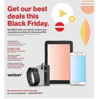 verizon black friday  cyber monday deals