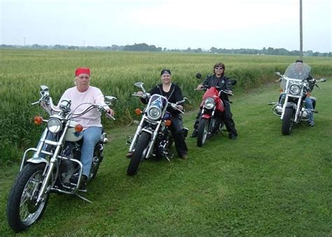 Motorcycle Club Or Group Picture Of Motorcycle Girls