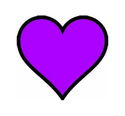 Purple Heart Hearts Clipart Clip Navy Kelly
