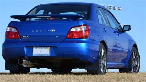 subaru blue my 2004 subaru impreza wrx world rally blue 25th youtube