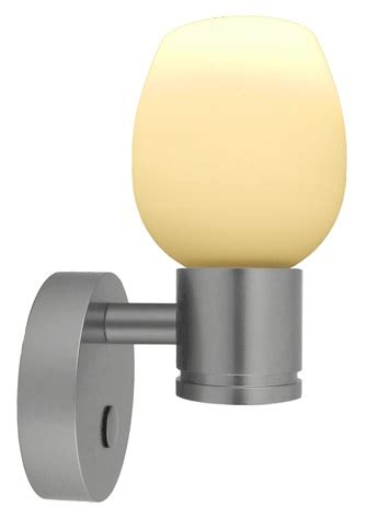 12 volt led wall light 10 30vdc piper with cylindrical glass shade and built in dimmer switch