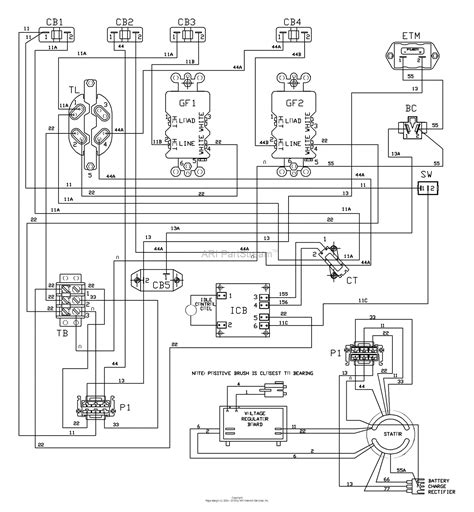 Husqvarna Lawn Mower Wiring Diagram by Wiring Diagram For Husqvarna Rz4824f