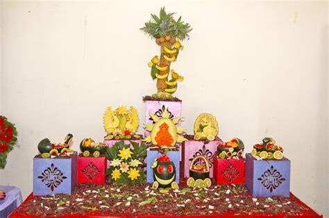 maharashtrian dohale jevan function tayari