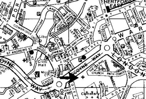 All Saints Parish Church Hertford Location