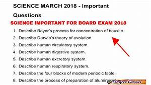 Science Important March 2018 Board Paper Ssc 10th Standard