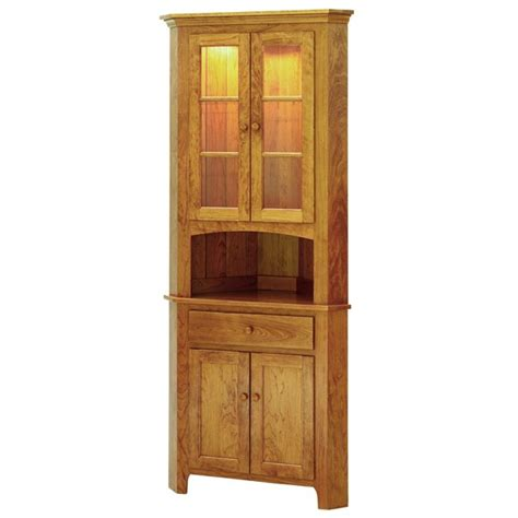 small corner hutch shaker amish small corner hutch keystone collections