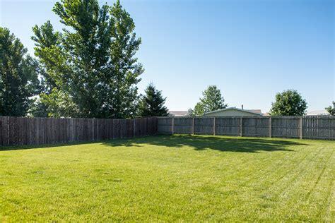 fenced in backyard fenced yard at 6225 e kacena red cedar inc