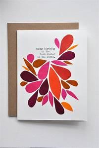 Geburtstagskarte Basteln Einfach : abstraktes florales muster auf der geburtstagskarte kreieren geburtstagskarten pinterest ~ Orissabook.com Haus und Dekorationen