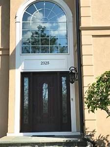 New Fiberglass Entry Door Updates Furlong Home Entryway