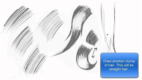 How To Shade Hair by Drawing Shading Hair Using Hatching Technique Basics