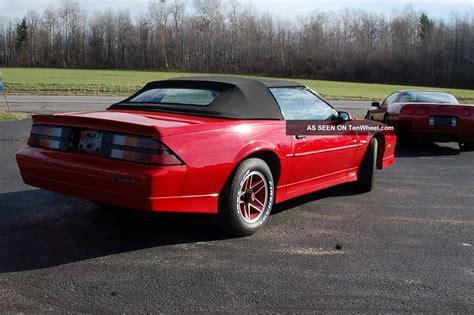 Chevy Camaro Rs Convertible by 1989 Chevrolet Camaro Rs Convertible 2 Door 5 0l