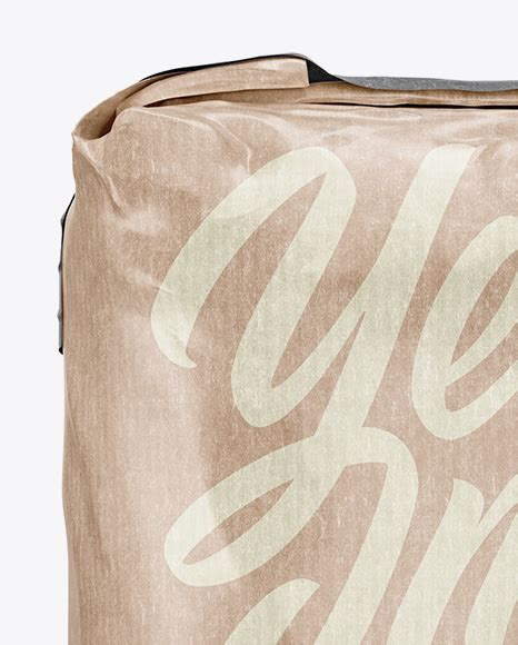 Includes special layers and smart object for your amazing artworks. 3 kg Kraft Paper Bag Mockup - Front View in Bag & Sack ...
