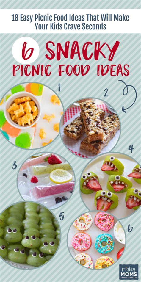 easy picnic food 18 easy picnic food ideas that will make your kids crave seconds the mighty moms club