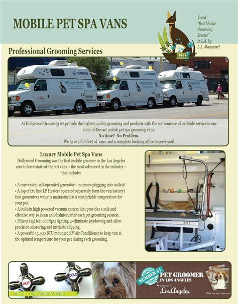 Mobile Groomers by Best 25 Mobile Pet Grooming Ideas On Pet