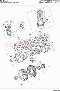 Aston Martin Db7  1995  Crankshafts  Pistons And Rods