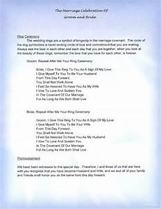 wedding vows non religious mini bridal With wedding ceremony script non religious