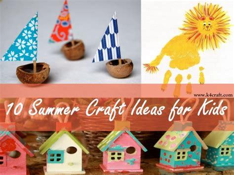 Sommer Basteln Ideen by 10 Diy Summer Craft Ideas For K4 Craft