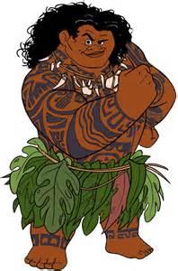 Disney Moana Maui Clip Art