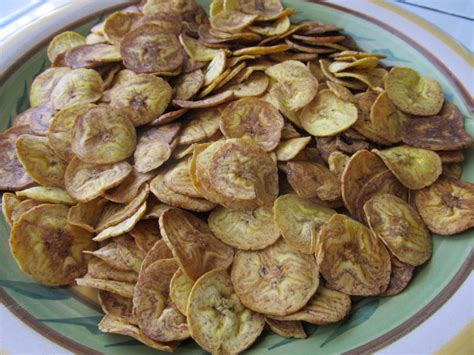 comment cuisiner des bananes plantain chips de banane plantain salées