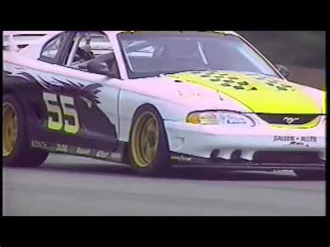 Tim Allen Mustang by S 351 Saleen Mustang Tim Allen 95 World Challenge