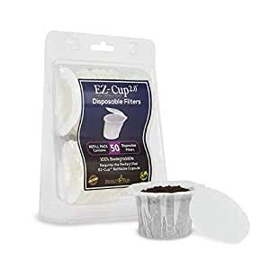 Limited time sale easy return. Amazon.com: EZ-Cup Filters by Perfect Pod - 1 Pack (50 Filters): K Cups Filters Paper: Kitchen ...