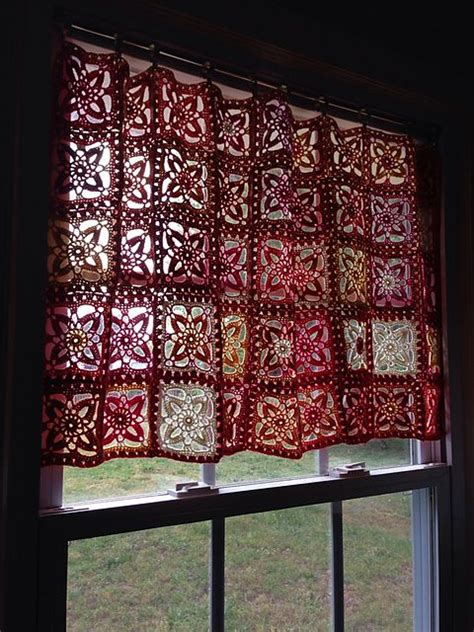 crochet valance patterns guide patterns