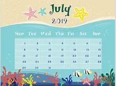 July 2019 Quirky Holidays And Unusual Events Stock