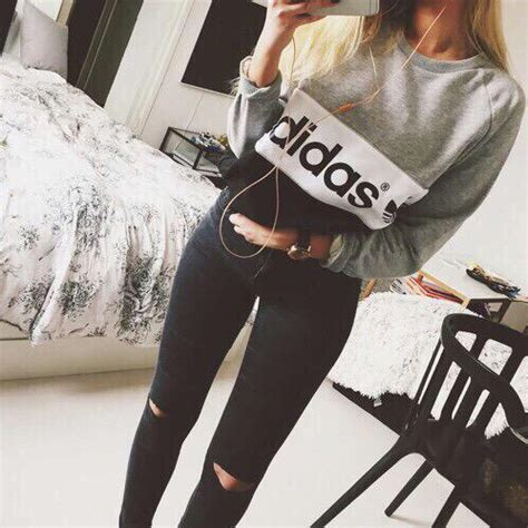 Adidas clothes fashion girl - image #2903184 by violanta on Favim.com