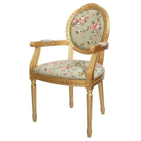 derrys louis floral upholstered dining chair wayfaircouk