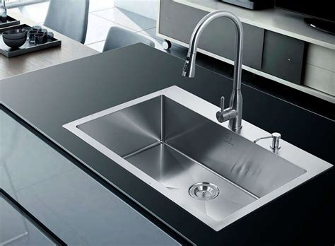 stainless steel kitchen sinks buyers guide design ideas pictures