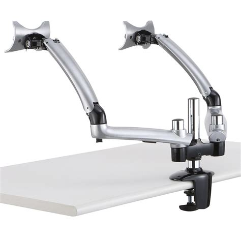 Dual Monitor Arms Desk Mount by Dual Monitor Desk Mount For Apple W Arm Dm Gs2a