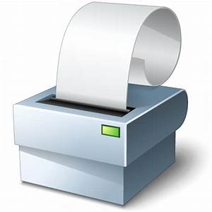 IconExperience » V-Collection » Receipt Printer Icon