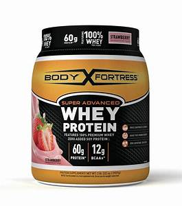 Body Fortress Super Advanced Whey Protein Powder  Chocolate  60g Protein  5lb  80oz  Packaging