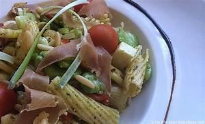 Assiette Pour Pates : salade de p tes au pesto ~ Teatrodelosmanantiales.com Idées de Décoration