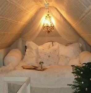 Moderne Dach-Einrichtungsideen für kleines Schlafzimmer