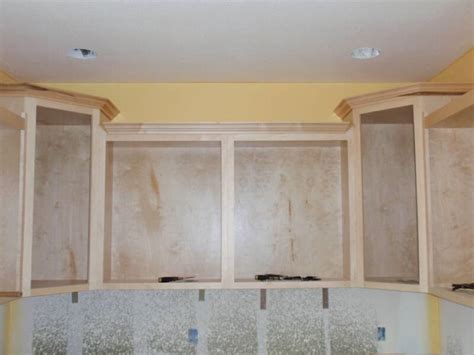 Cabinet Angled Mold by Custom Cabinets Lifetime Transferable Warranty Wooden