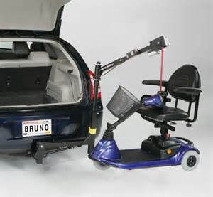 handy take apart lifts let you stow small scooters in