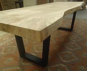 Plateau De Table : plateau de table en bois ~ Teatrodelosmanantiales.com Idées de Décoration