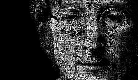 create a typographic portrait in photoshop