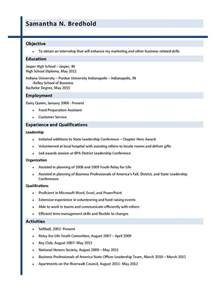 resume for promotion within same company best letter sle