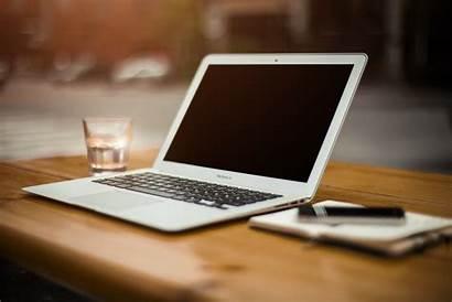 Laptop Computer Desk Office Working Notebook Desktop