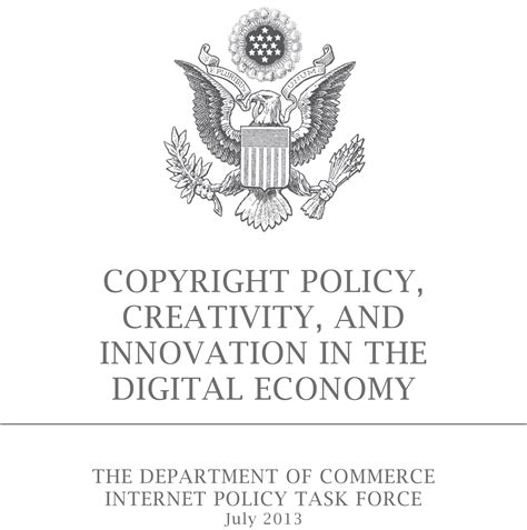 Commerce's Internet Policy Task Force Releases Report On