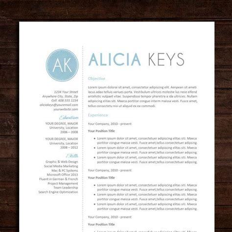 resume cv template the resume design in blue
