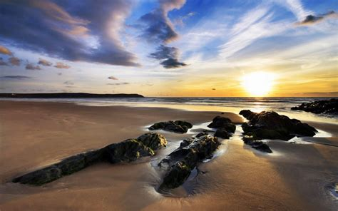 woolacombe sands uk wallpapers hd wallpapers id