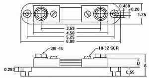Deltec Company Wb Dc Ammeter Shunts 50  U0026 100 Mv