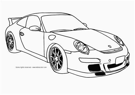 Coloring Pages Sports Cars To Print Free Coloring Sheets
