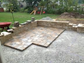 Paver Patio Ideas Diy by Patio Made With Pavers Diy Patio With Pavers Diy Paver