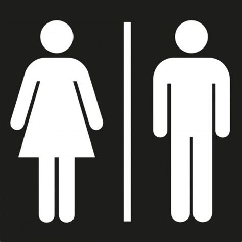 adh 233 sif pictogramme quot toilettes hommes femmes quot noir