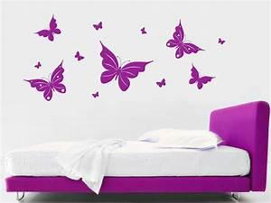 Wandtattoo Kinderzimmer Schmetterlinge : schmetterling wandtattoo fr hlingshafte schmetterlinge von ~ Sanjose-hotels-ca.com Haus und Dekorationen