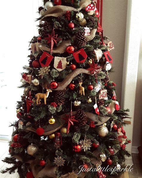 christmas tree rustic christmas tree christmas decor
